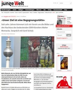Interview mit Gerd Schulz über Walter Womacka und seine Kunst