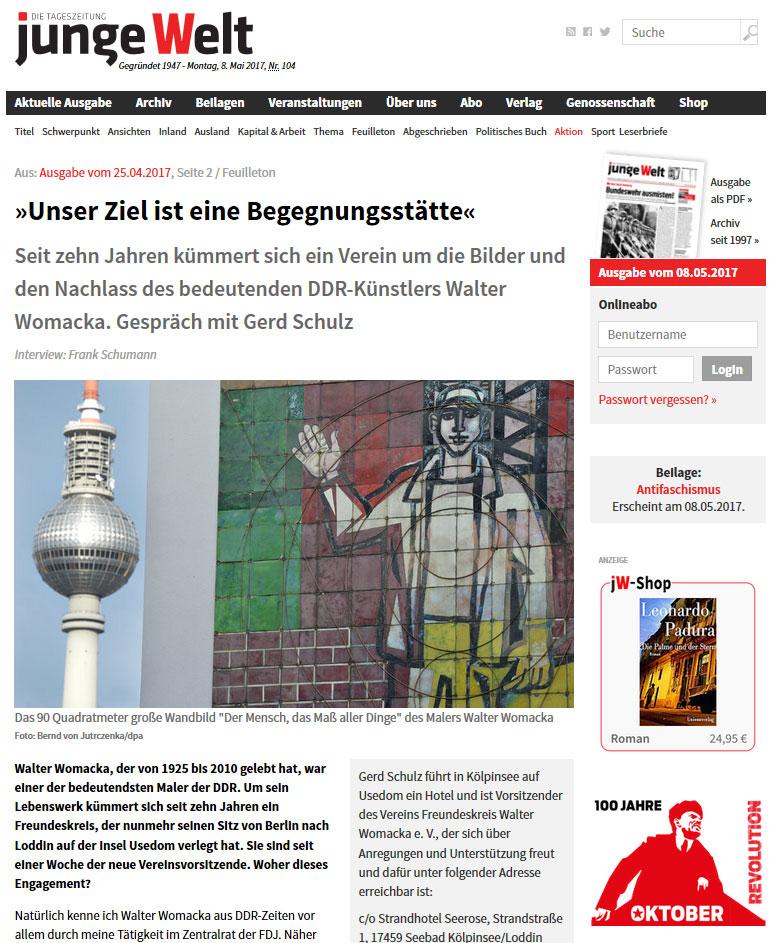 Interview mit Gerd Schulz